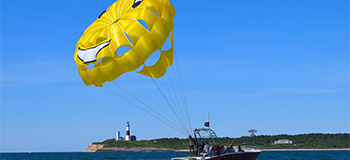 Montauk Parasailing – Strap on a Parachute and Enjoy a High-Ride above the Waters